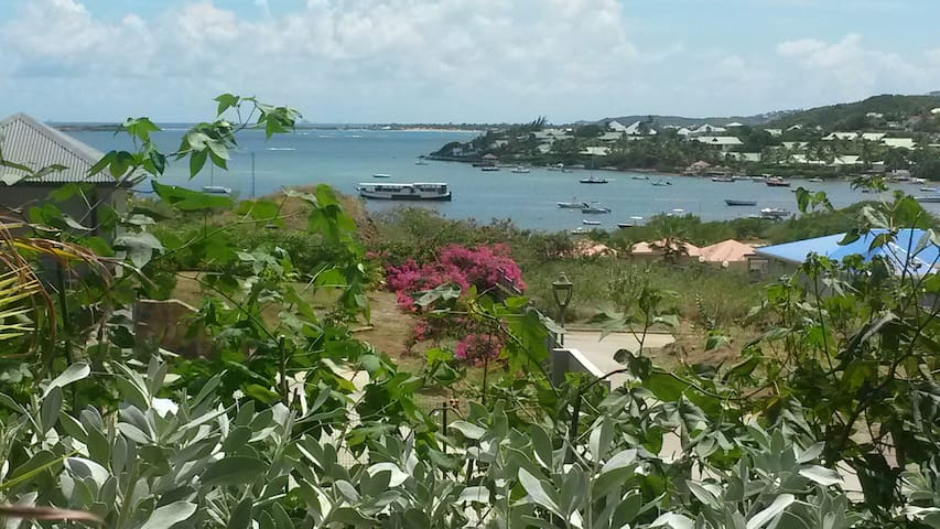 Beautiful Cottage St Barth View! - Cul-de-Sac - Appartement