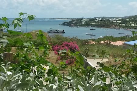 Beautiful Cottage St Barth View! - Cul-de-Sac