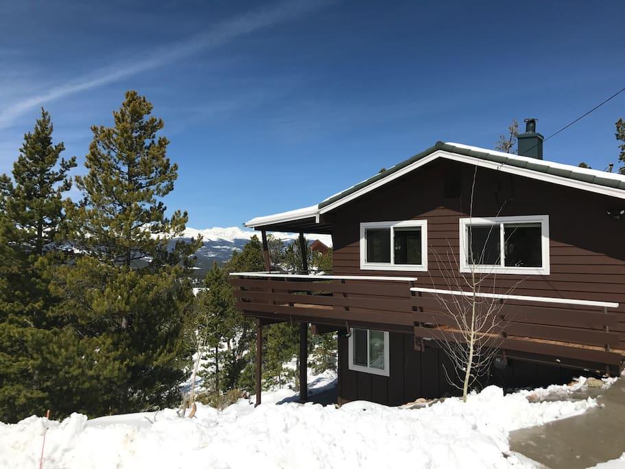 Wonder view lodge cabins for rent in black hawk for Nederland cabin rental