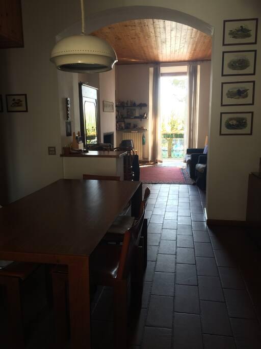 Salone e sala da pranzo