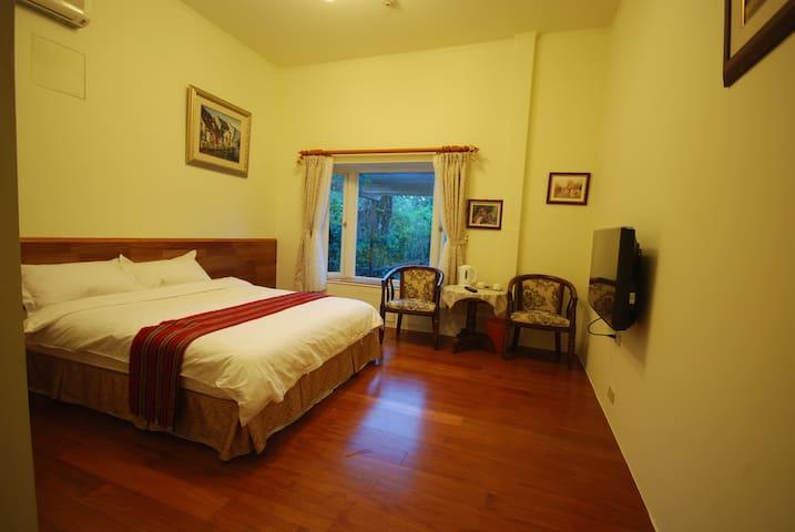 浪漫庭園兩人房 - Shoufeng Township - Bed & Breakfast