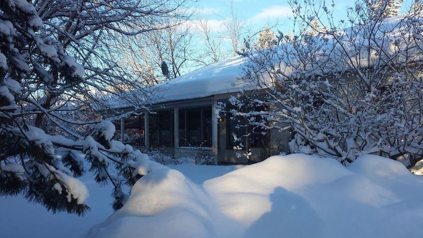 Villa Gården, nur 5 km vom Storforsen, Schwedens größten Stromschnellen entfernt