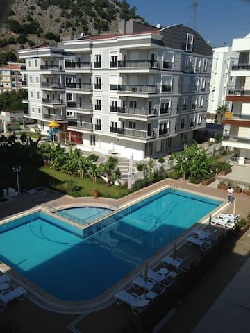Уютные апартаменты в Анталии, 1+1 - Konyaaltı - Daire