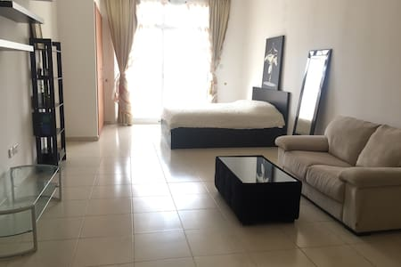 Large furnished studio with balcony - Dubai