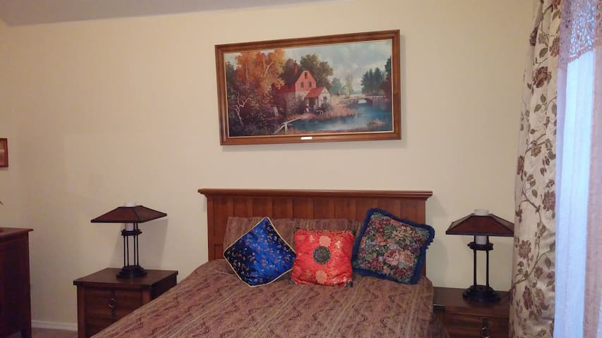Private room in comfortableTH - Hillsboro - Řadový dům