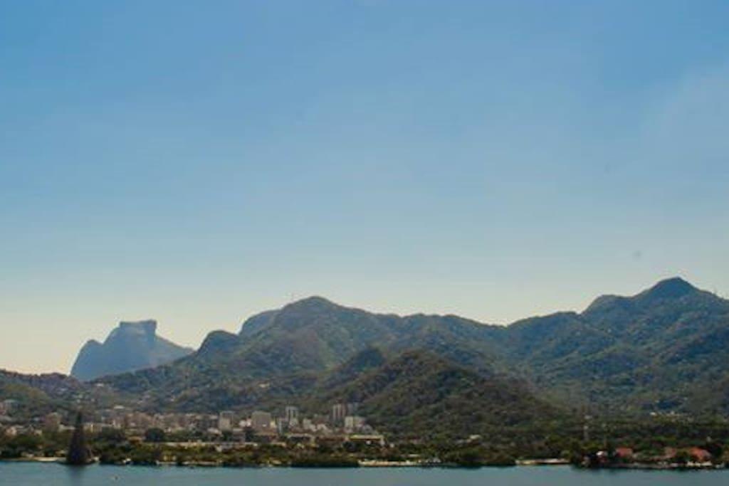 Stunnig view: Rio´s skyline