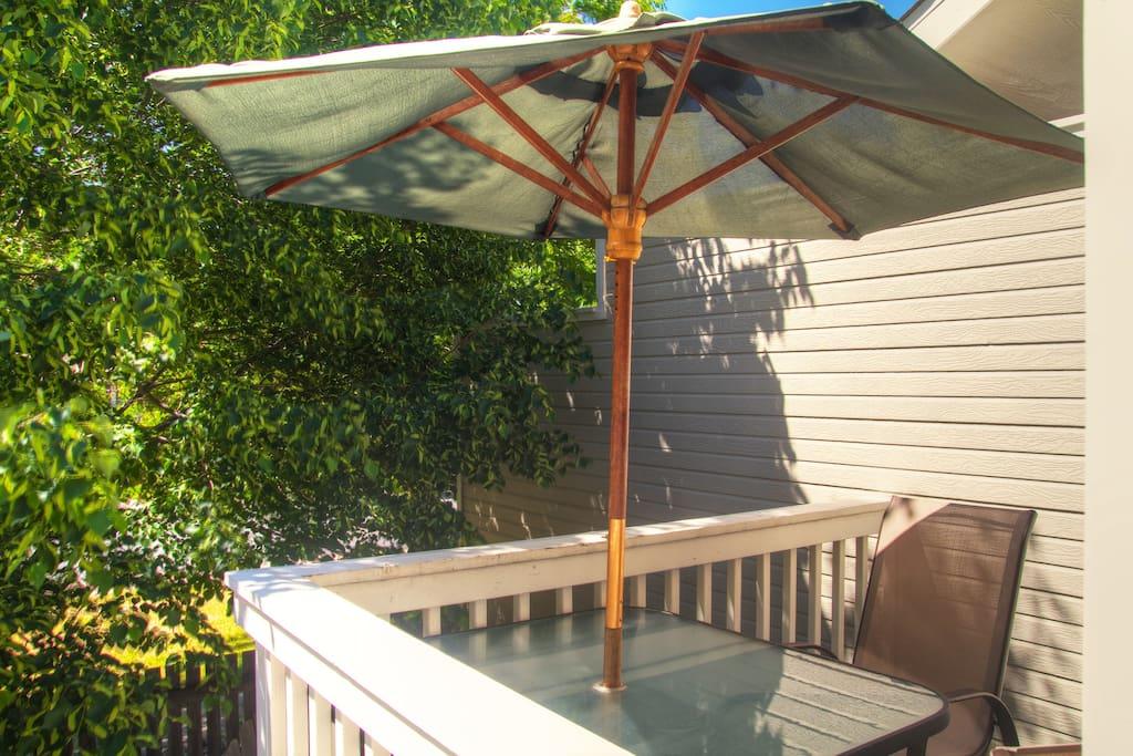 outdoor patio deck