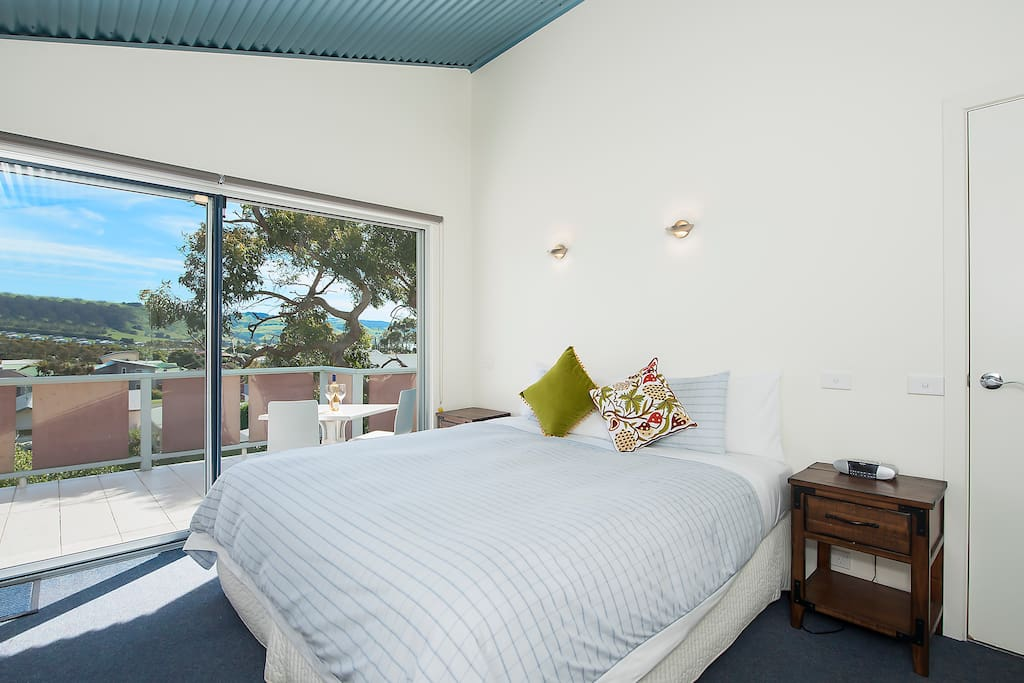 Second bedroom - views to The Otways and township