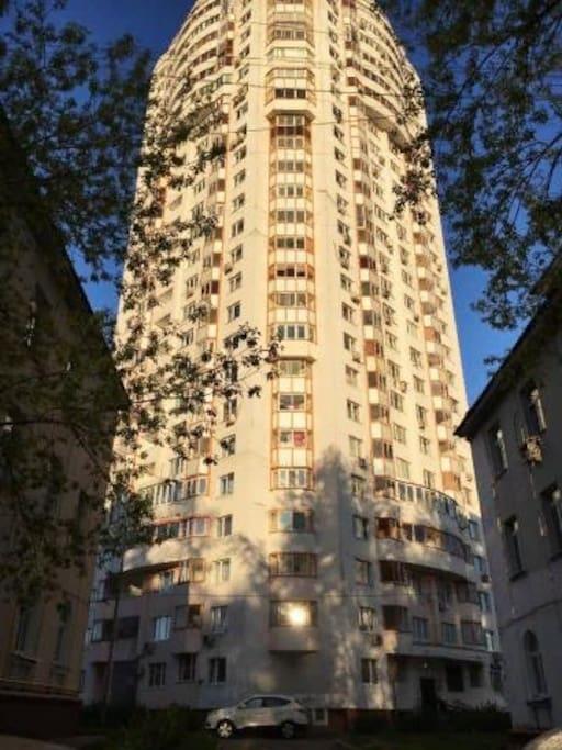 25-этажный дом