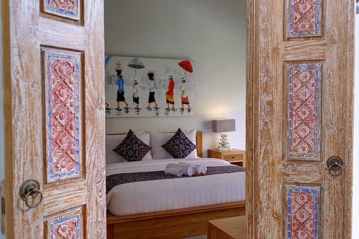 Wide Sands Medewi Beachfront Garden Suite Room