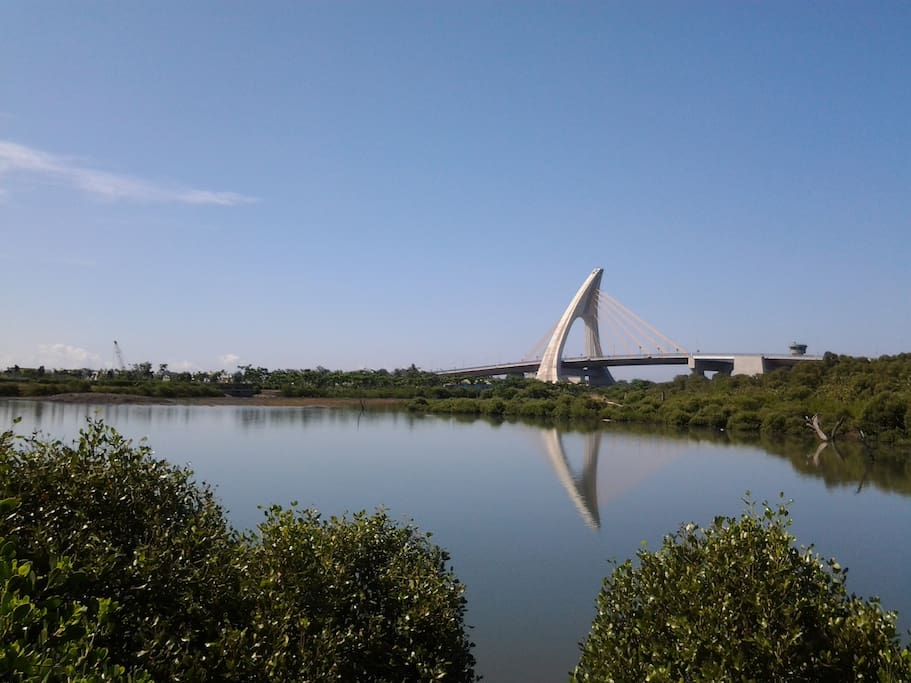 東港的大鵬灣國家風景區