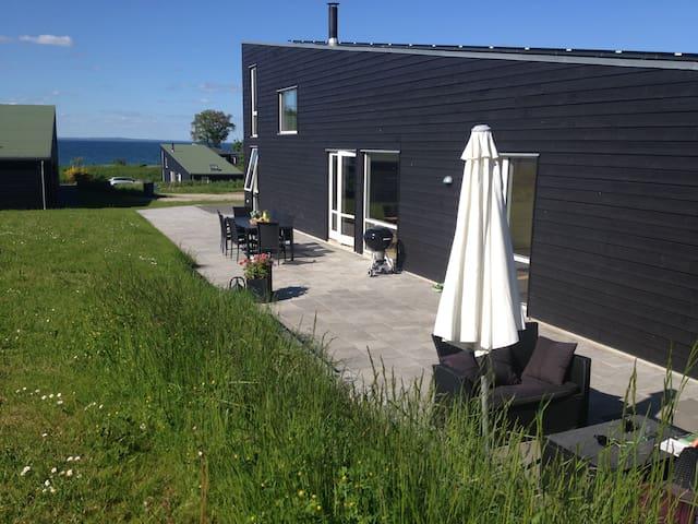 Sommerhus Båring Vig med havudsigt  - Asperup - Houten huisje