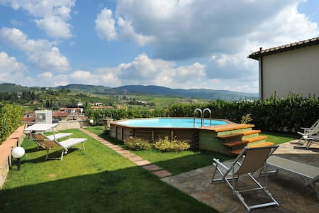 Villa A with pool in Chianti - Greve In Chianti