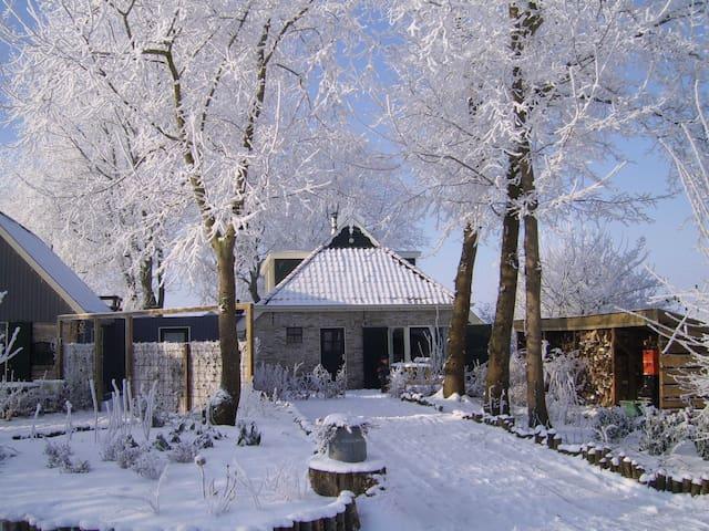 De entre in de winter