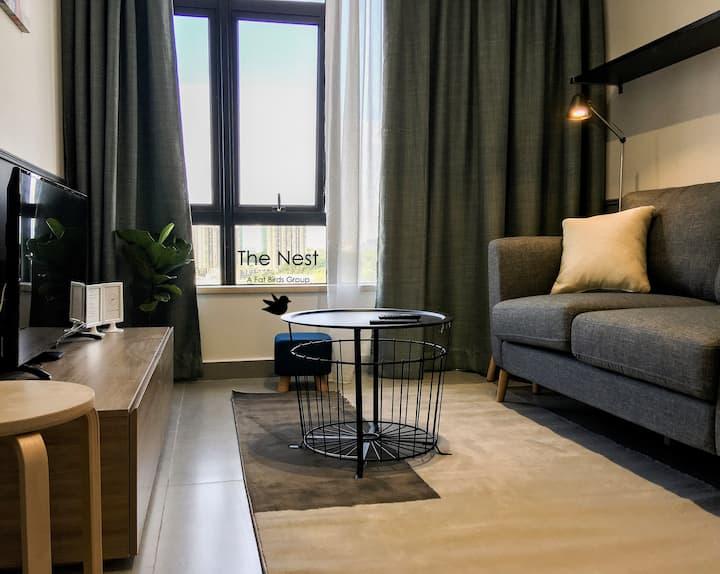 4- Ash Home 1501 | Cyberjaya Kanvas | Wifi/Netflix