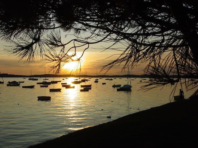 La cabane du pêcheur proche plage