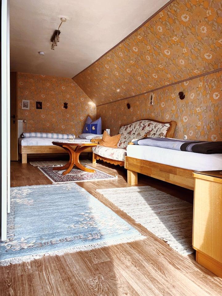 Zimmervermietung Hubenstein Mehrbettzimmer