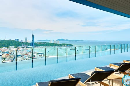 THE BASE,30st floor 2BD with stunning views!!! - Muang Pattaya - Daire