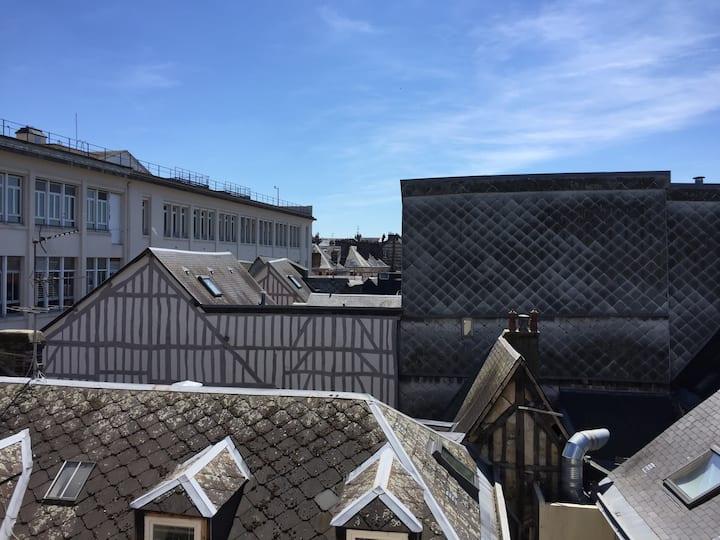 Bel appartement dans le centre historique de Rouen