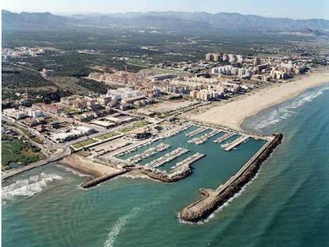 Acogedor apartamento a 5 minutos de la playa - Canet d'en Berenguer - Apartment