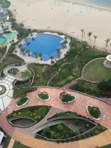 惠东莱蒙水榭湾度假公寓,依山傍海,无敌海景,私享沙滩,你和家人度假首选 - 惠州市 - Lejlighed