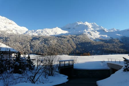 ST. MORITZ - SILVAPLANA: RELAX WITH LAKE VIEW - Silvaplana