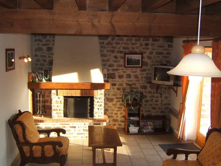 Gîtes 6 places à Clécy avec vue magnifique