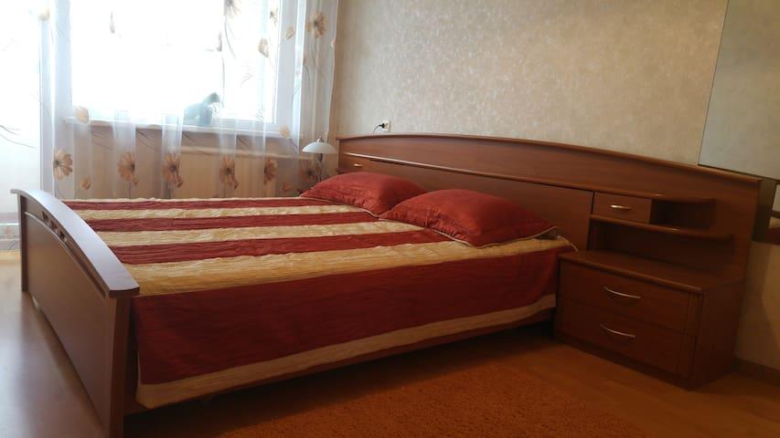 Warm and bright flat in Kaunas
