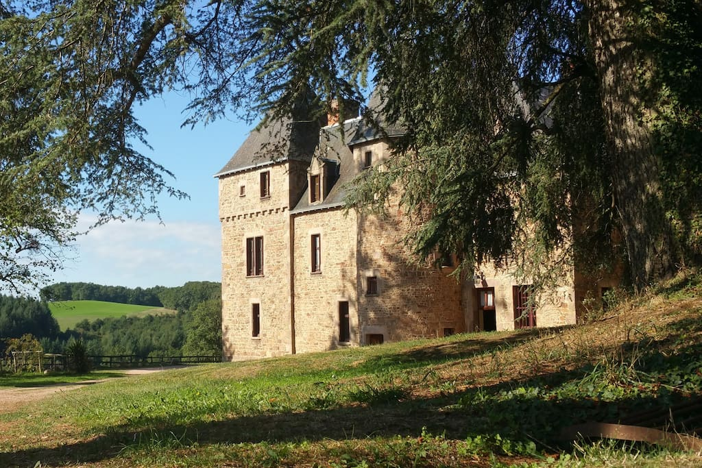 Chateau from the back