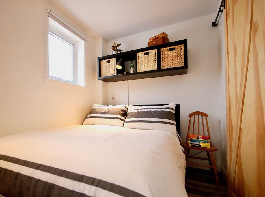 Reposeful bed