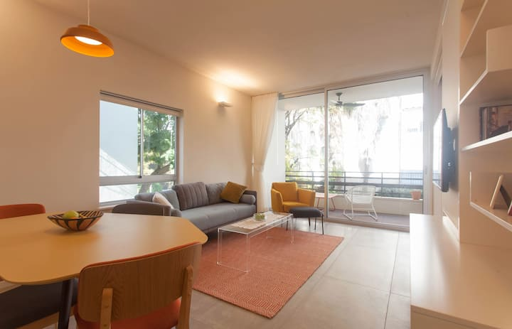 Central Best Location + Spacious Quiet 2BR Balcony