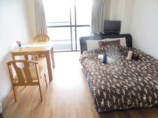 Near Disney!1 room tidy apartment close to station - Ichikawa-shi - Apartment