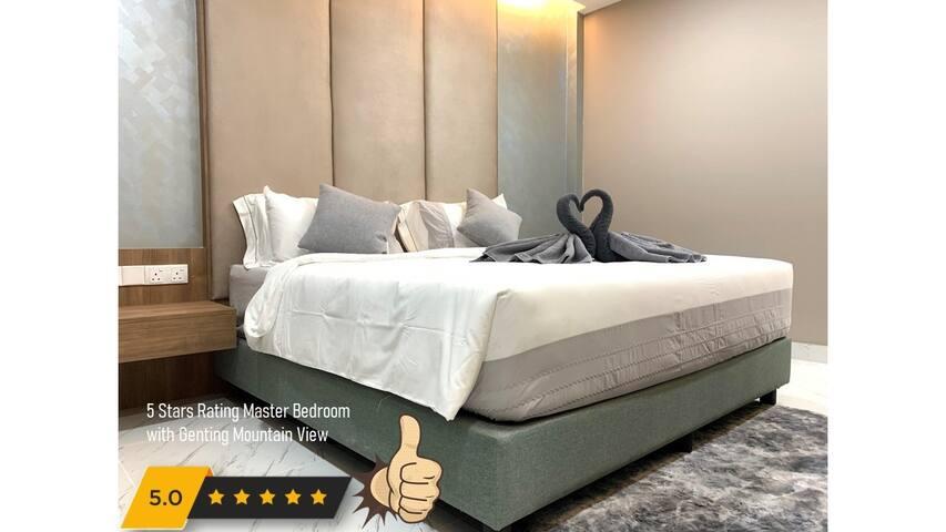 President Suite/Master Bedroom 总统套房/主卧室 180cm (W) x 183cm (L)