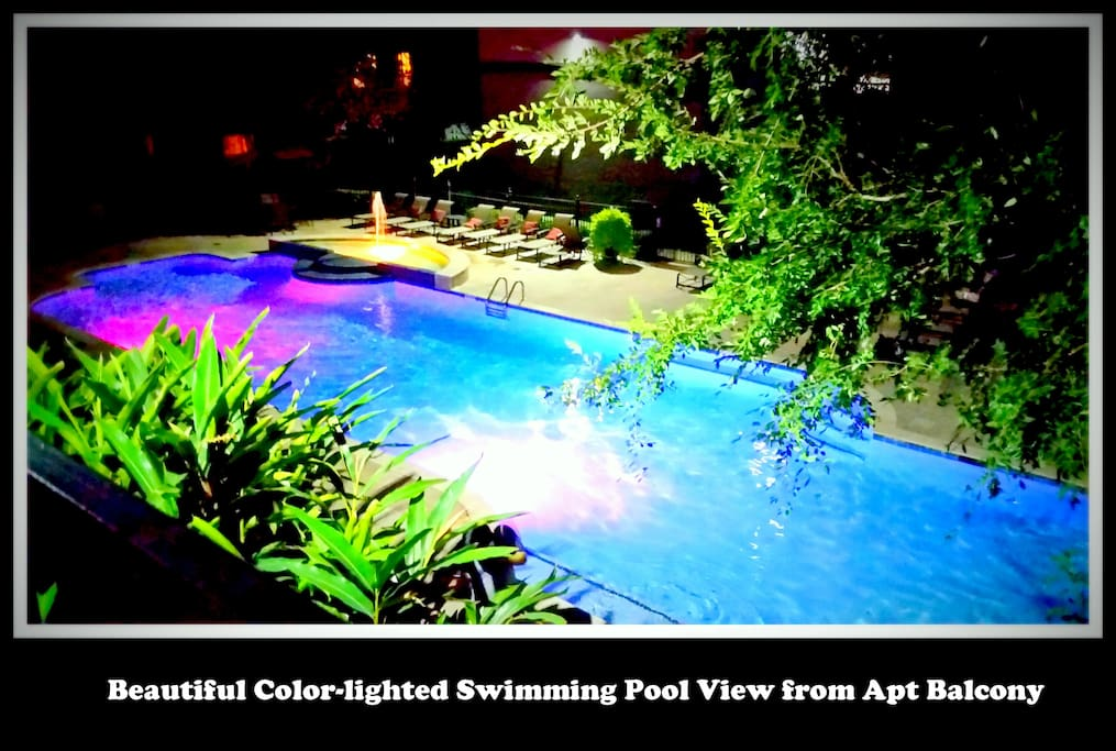 Swimming Pool by the club house