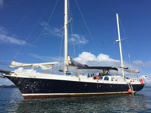 Amazing Sail Boat, 80 ft, flush deck, great space - Panamá