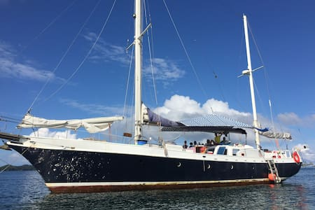 Amazing Sail Boat, 80 ft, flush deck, great space - Panamá - Boot