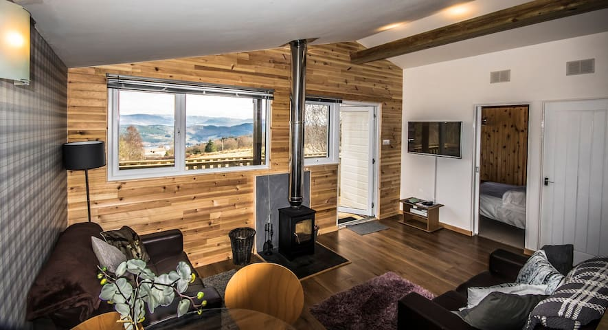 Ancarraig Lodges Self-Catering Above Loch Ness #10 - Bunloit - Alpehytte