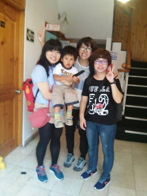 Recuerdo de la visita de nuestras clientes de China