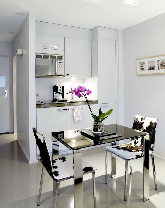 Fully equipped kitchenette in every Apartment