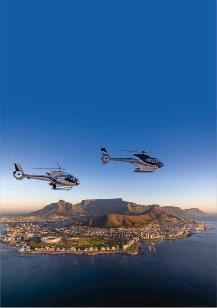 Spectacular views of Cape Town...