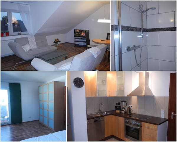 Bright 2-room apartment top located - Troisdorf - Departamento
