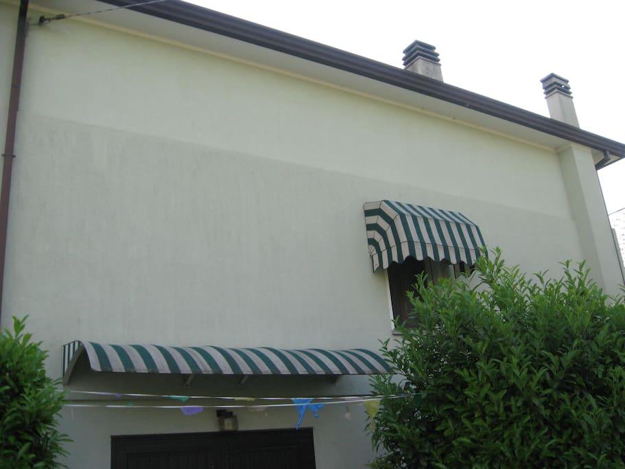 eastern façade