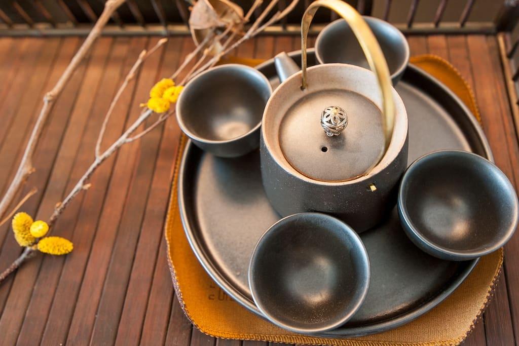 风格独特的茶具