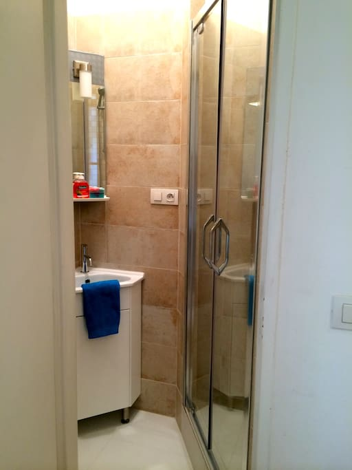 Newly upgraded private bathroom