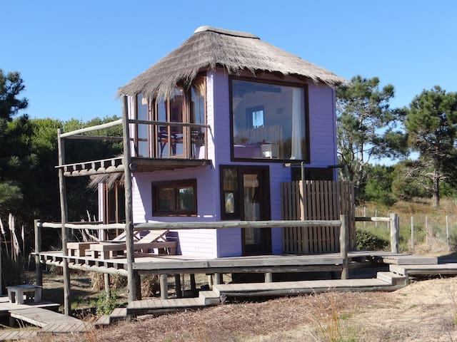 SOLOMARE Violeta, ECO CABIN - Punta del Diablo - Casa de campo