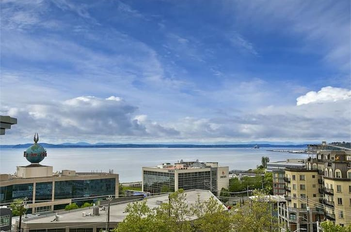 Seattle Center Condo with Great View & Parking