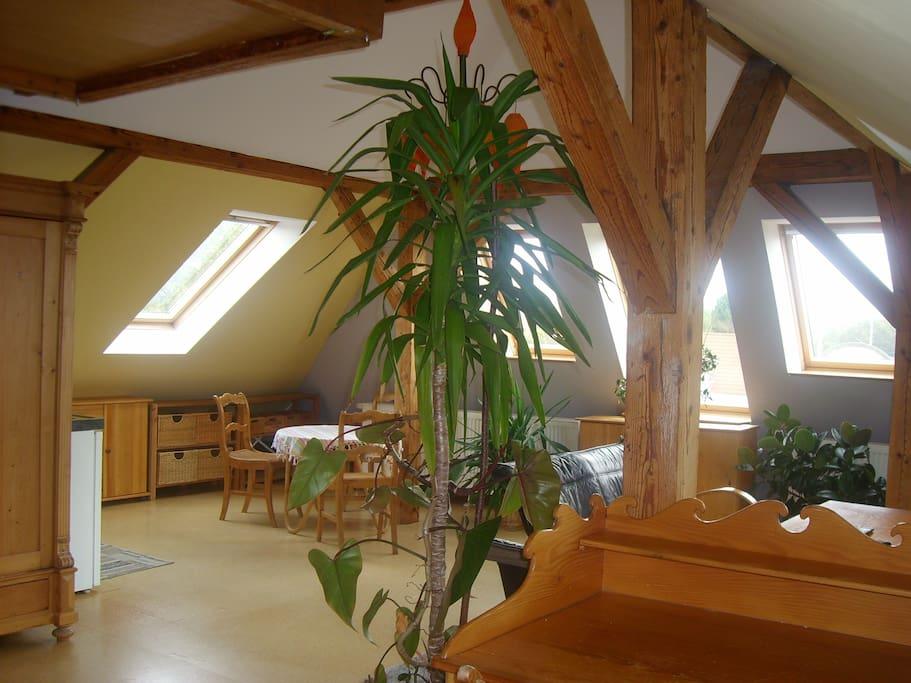 Dachstudio idyllisch citynah casas en alquiler en - Alquiler casas valles occidental ...