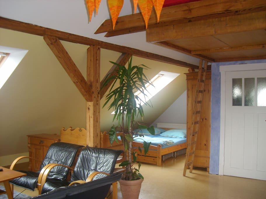 Bequemes Doppelbett (180 x 200)