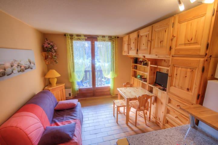 Appartement studio montagne - La Colmiane - Valdeblore - Flat