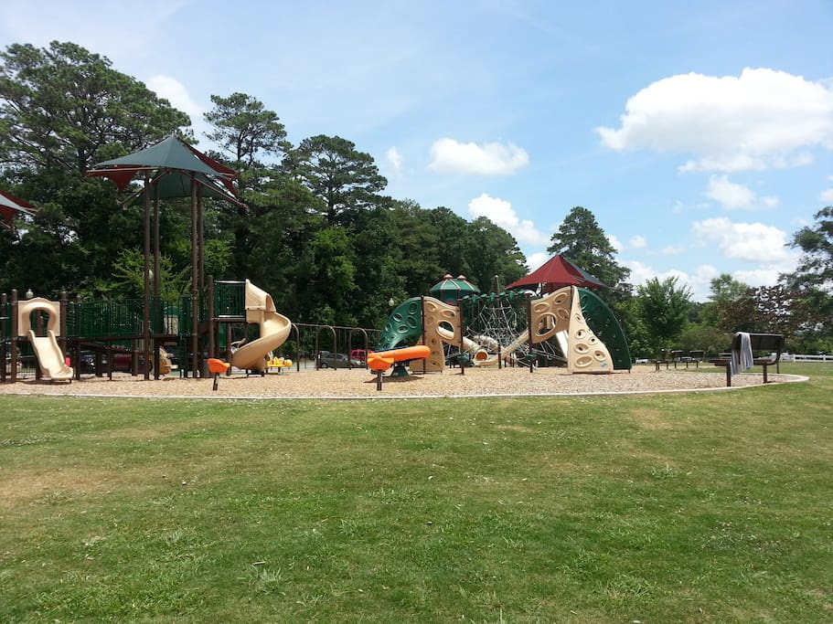 Great playground for all ages!